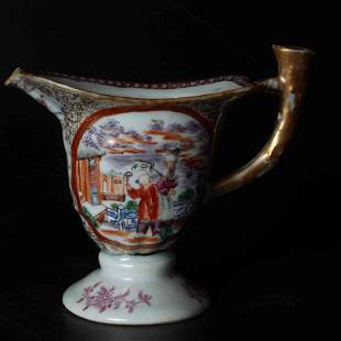 A CHINESE KWON-GLAZED PORCELAIN CUP, QING DYNASTY