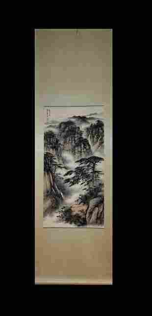 LANDSCAPE SCROLL BY DONG SHOUPING