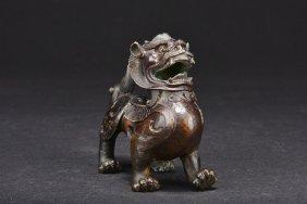 Bronze 'mythical Beast' Figure