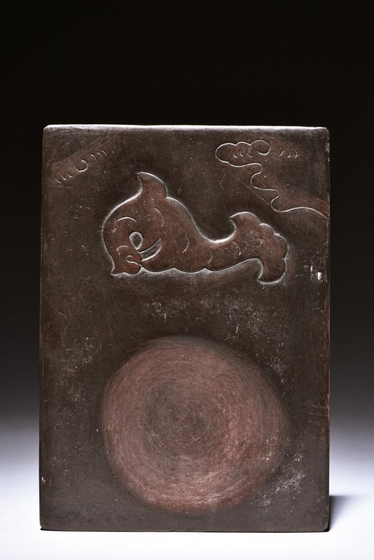 INK STONE WITH BOX AND COVER - 2