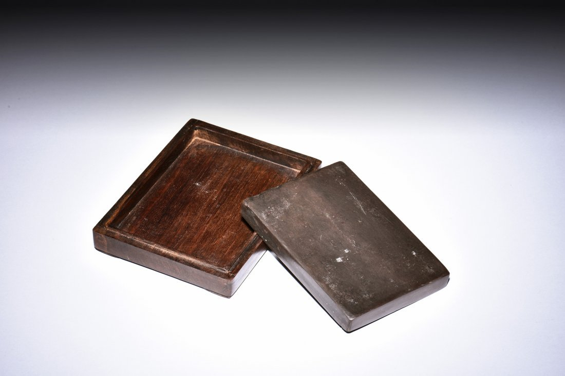 INK STONE WITH BOX AND COVER - 4