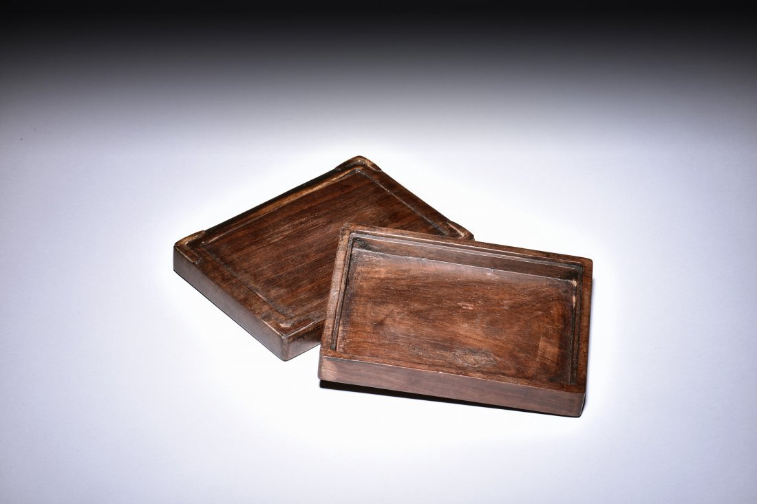 INK STONE WITH BOX AND COVER - 5