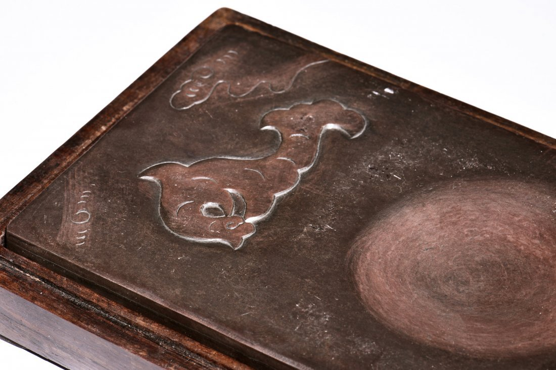 INK STONE WITH BOX AND COVER - 7