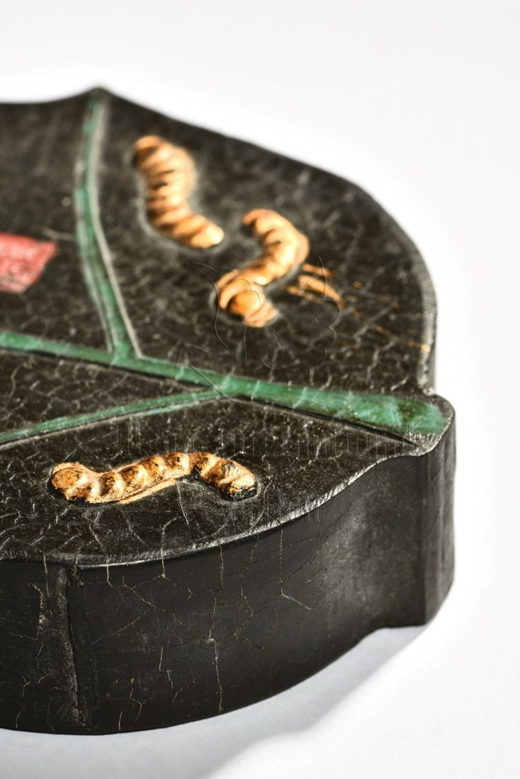 SILK WORMS IN SPRING' INK STONE - 7