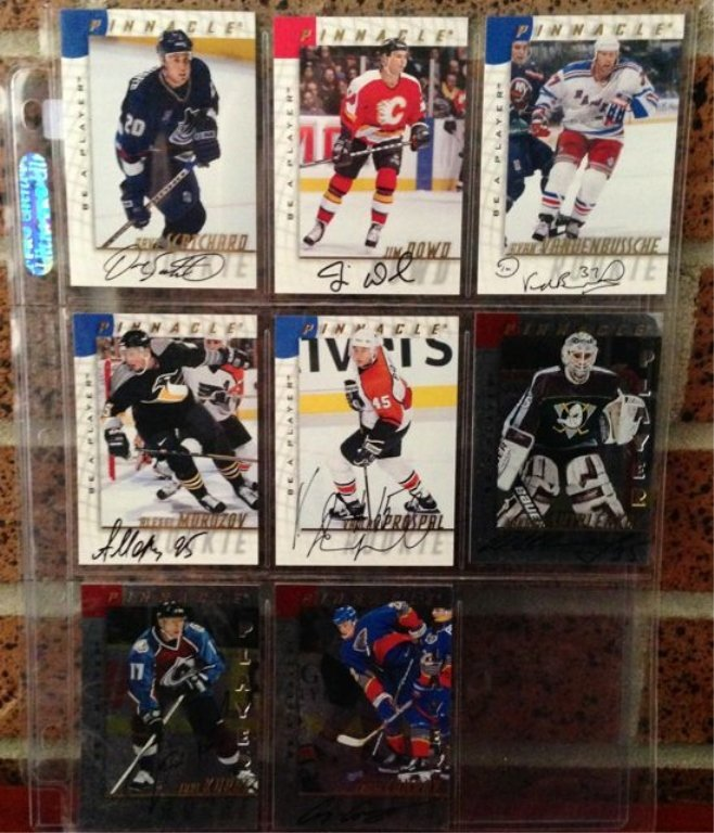 Lot of 10 Original signature cards. Be a  Player