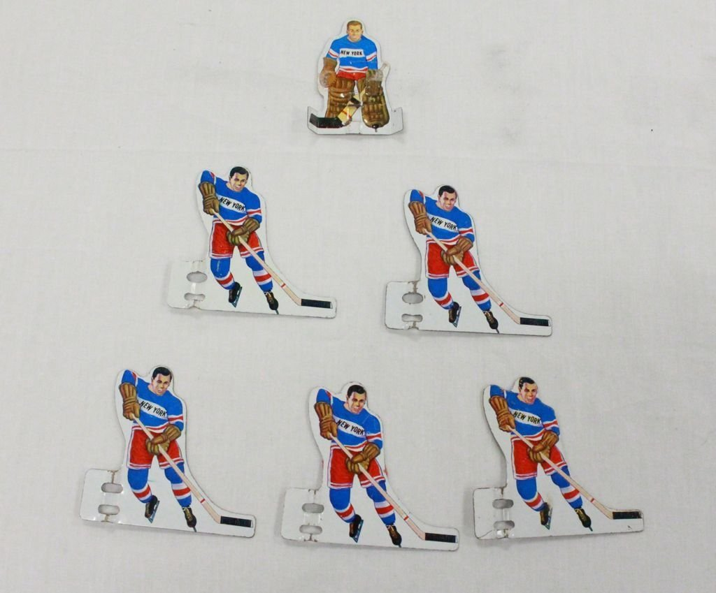 Vintage Hockey Game Players including team  sets for