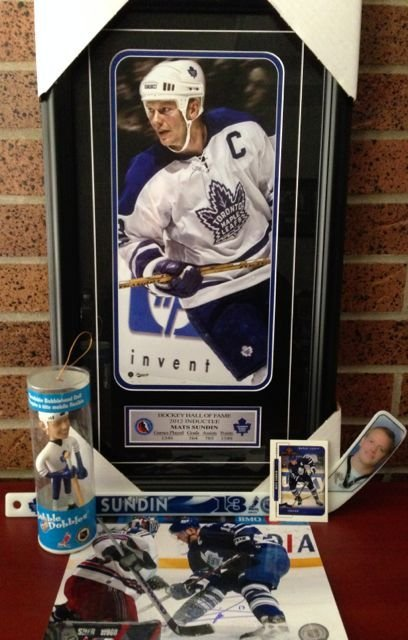 Mats Sundin Collectibles The Hall of Fame Portrait