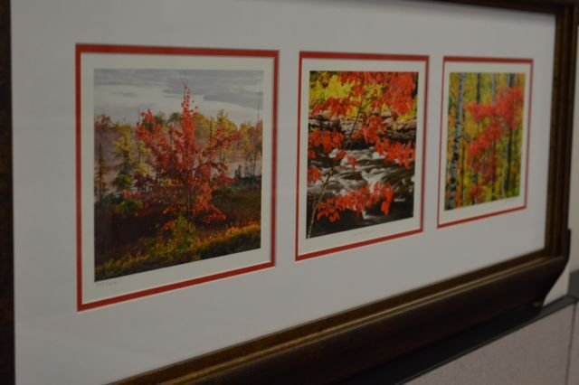 "Andrew Collette Trilogy ""The Red Maple"""" 3  Limited"