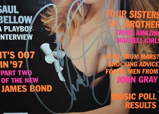 """Playboy"""" May 1997 Edition with Claudia  Schiffer on - 2"""