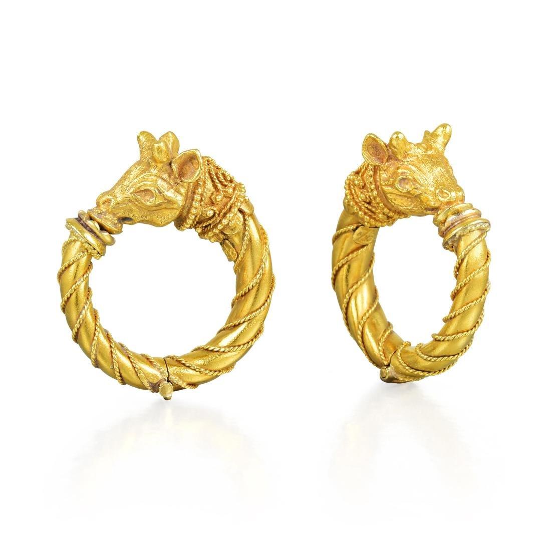 Zolotas Gold Ear Clips