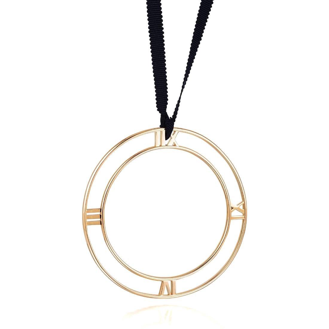 "Tiffany & Co. Rose Gold ""Atlas"" Pendant"
