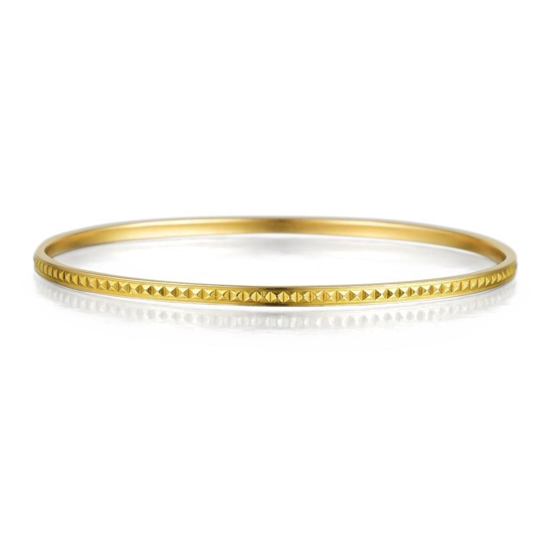 Tiffany & Co. Gold Bangle