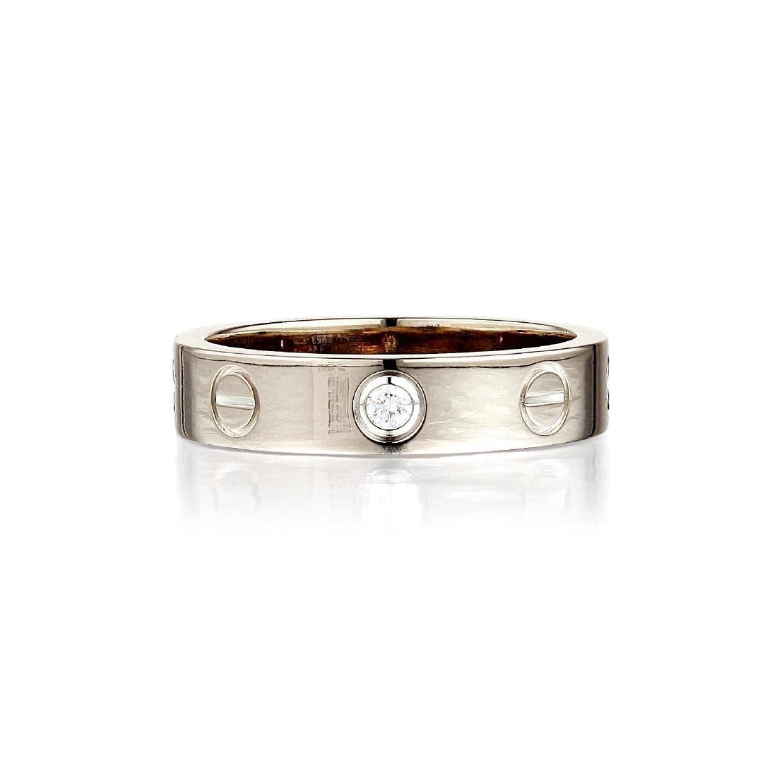 """Cartier Diamond """"Love"""" Ring"""