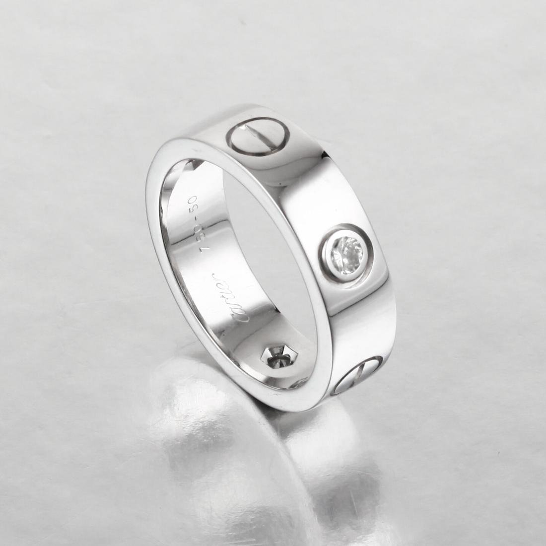 "Cartier Diamond ""Love"" Ring - 2"