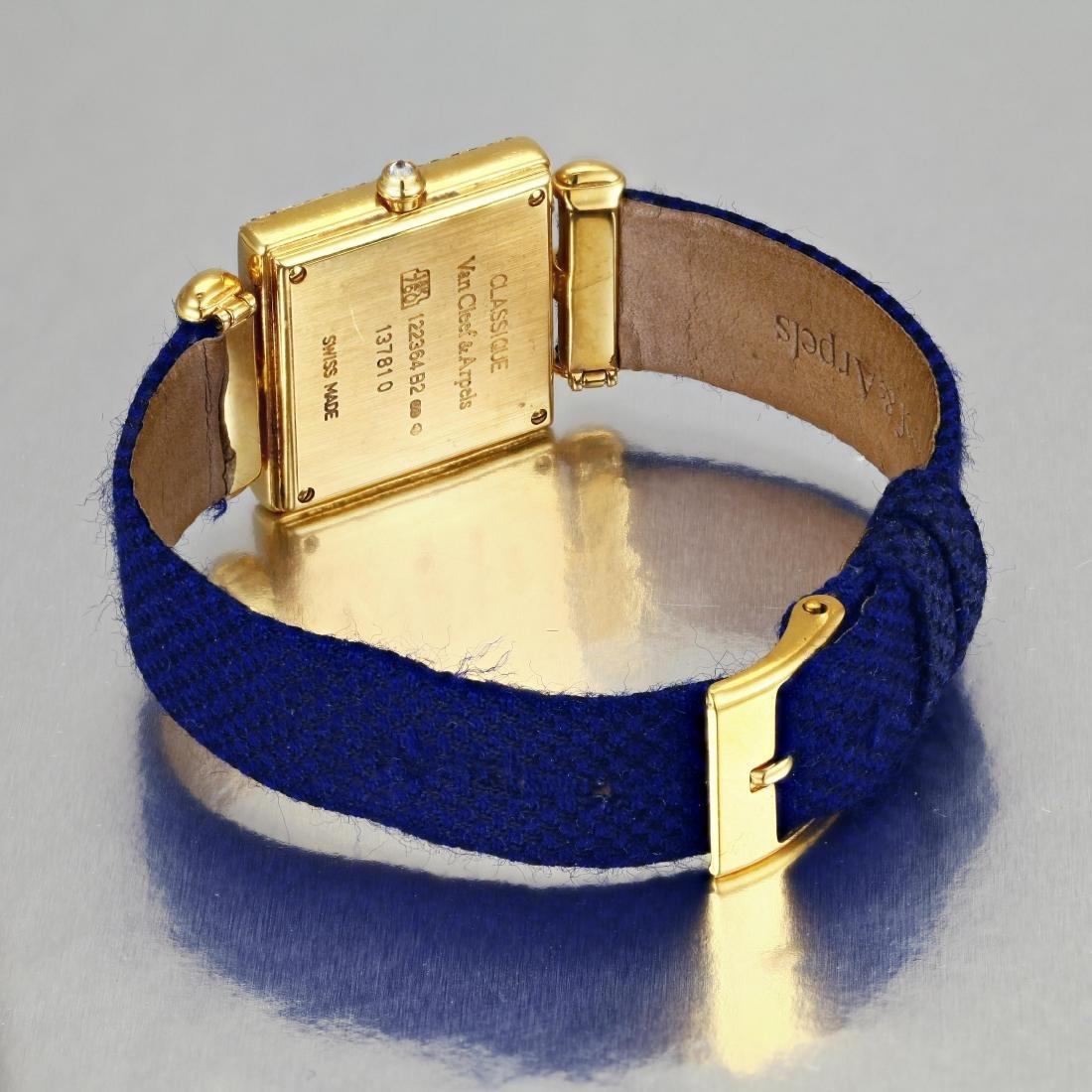 """Van Cleef & Arpels """"Classique"""" Gold and Diamond Watch - 2"""