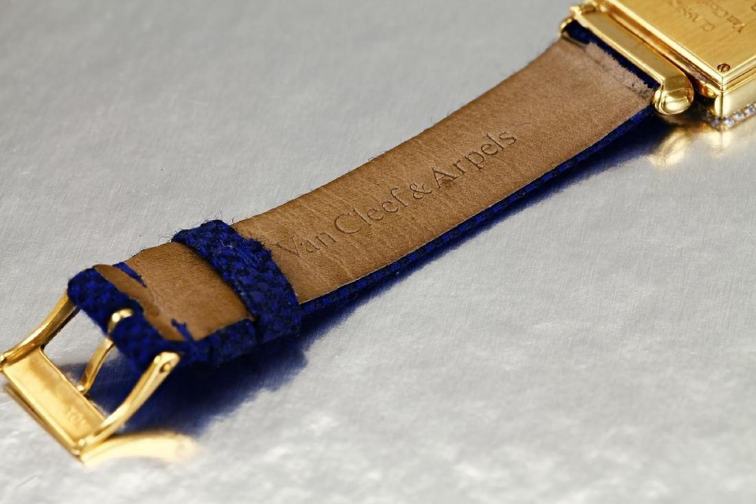 """Van Cleef & Arpels """"Classique"""" Gold and Diamond Watch - 3"""
