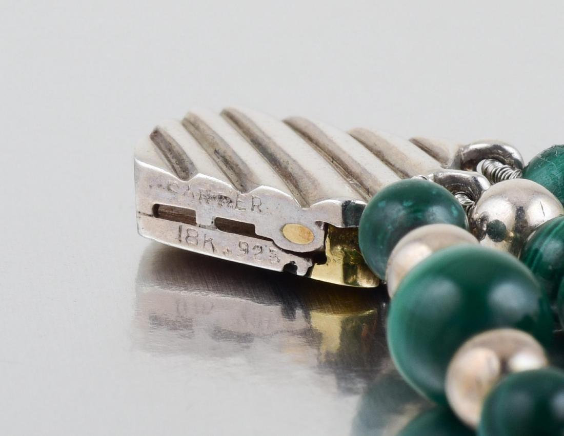 Cartier Malachite and Carnelian Bracelet - 2