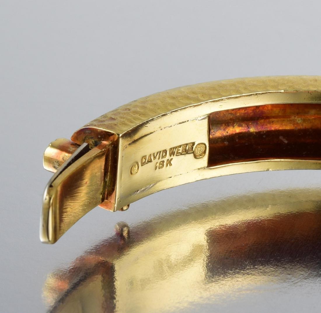 David Webb Gold Bangle - 4