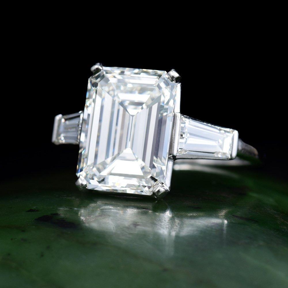 A 5.03-Carat Diamond Ring