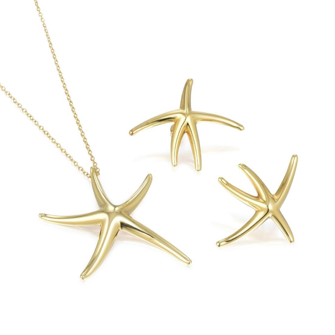 Tiffany & Co. Elsa Peretti Starfish Pendant Necklace