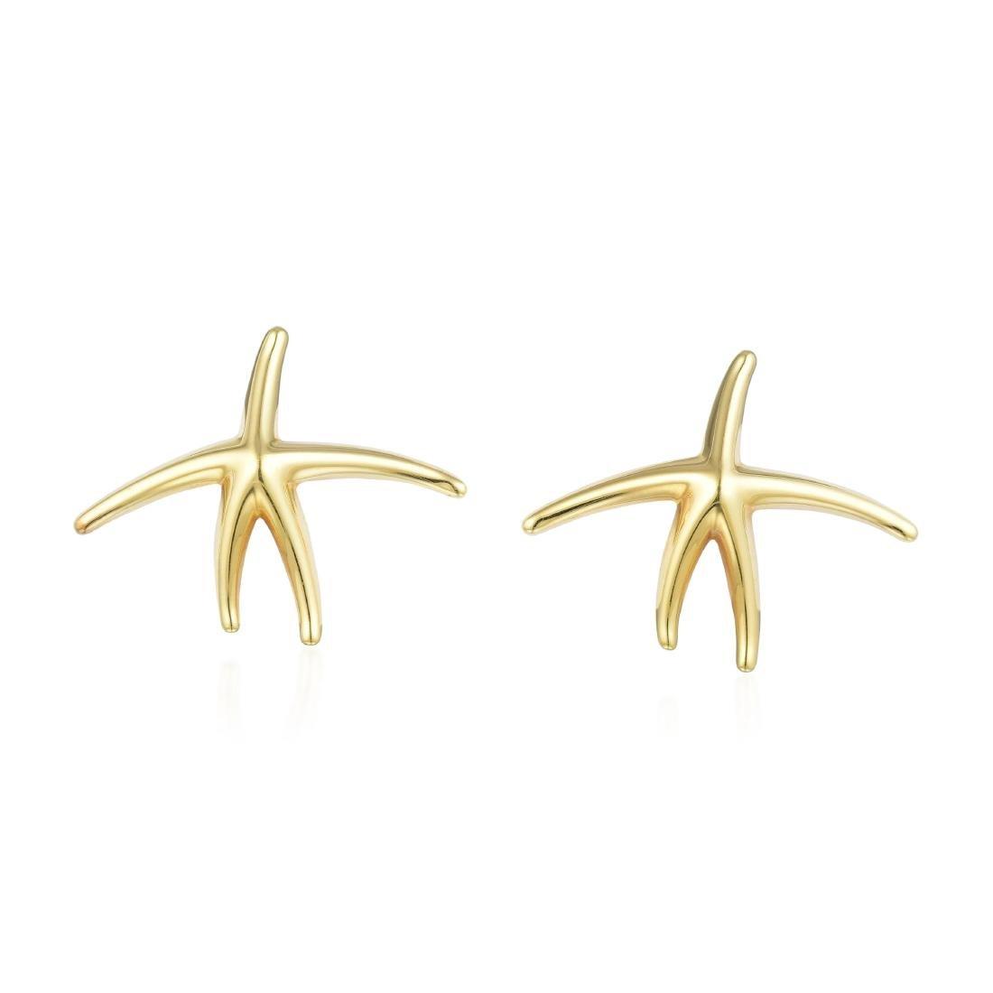 Tiffany & Co. Elsa Peretti Starfish Pendant Necklace - 3