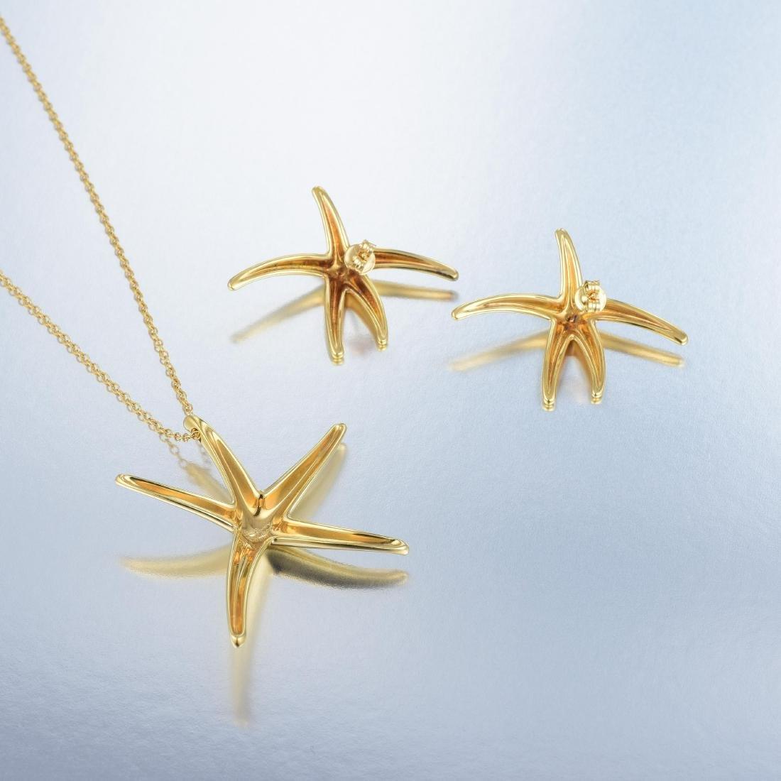 Tiffany & Co. Elsa Peretti Starfish Pendant Necklace - 4