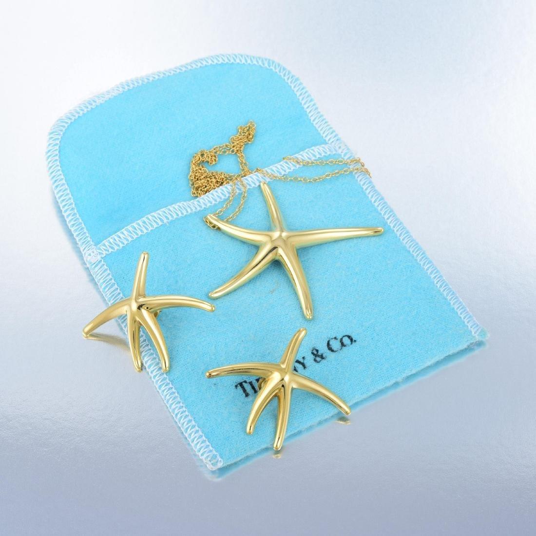 Tiffany & Co. Elsa Peretti Starfish Pendant Necklace - 8