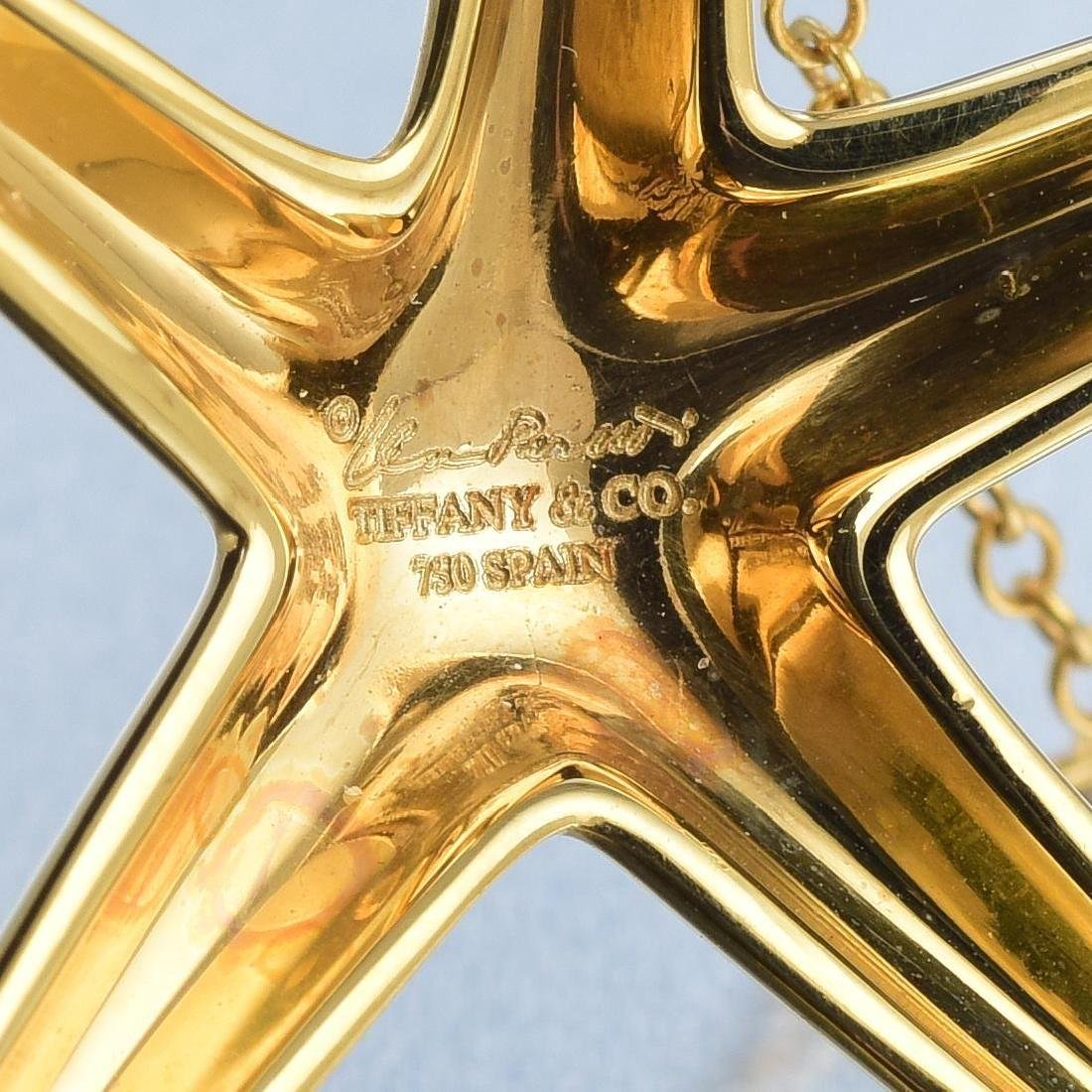 Tiffany & Co. Elsa Peretti Starfish Pendant Necklace - 9