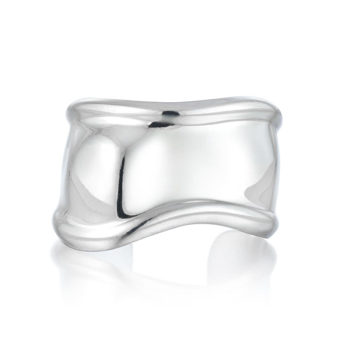 Tiffany & Co. Elsa Peretti Silver Bone Cuff