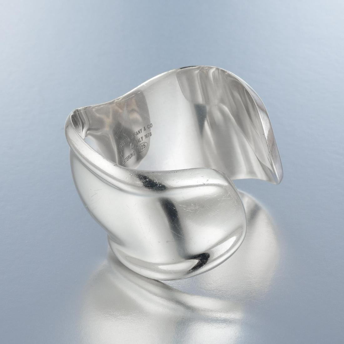 Tiffany & Co. Elsa Peretti Silver Bone Cuff - 2
