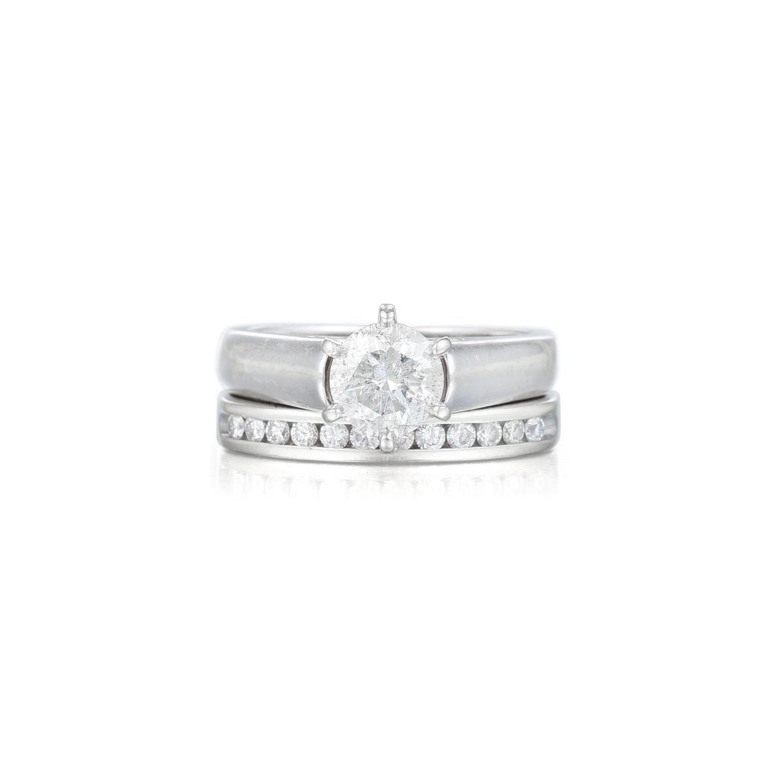 A Ladies Diamond Wedding Set