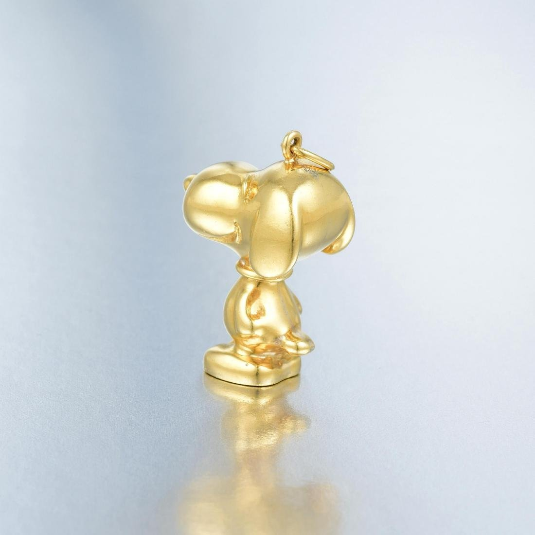 Cartier Gold Snoopy Pendant - 5