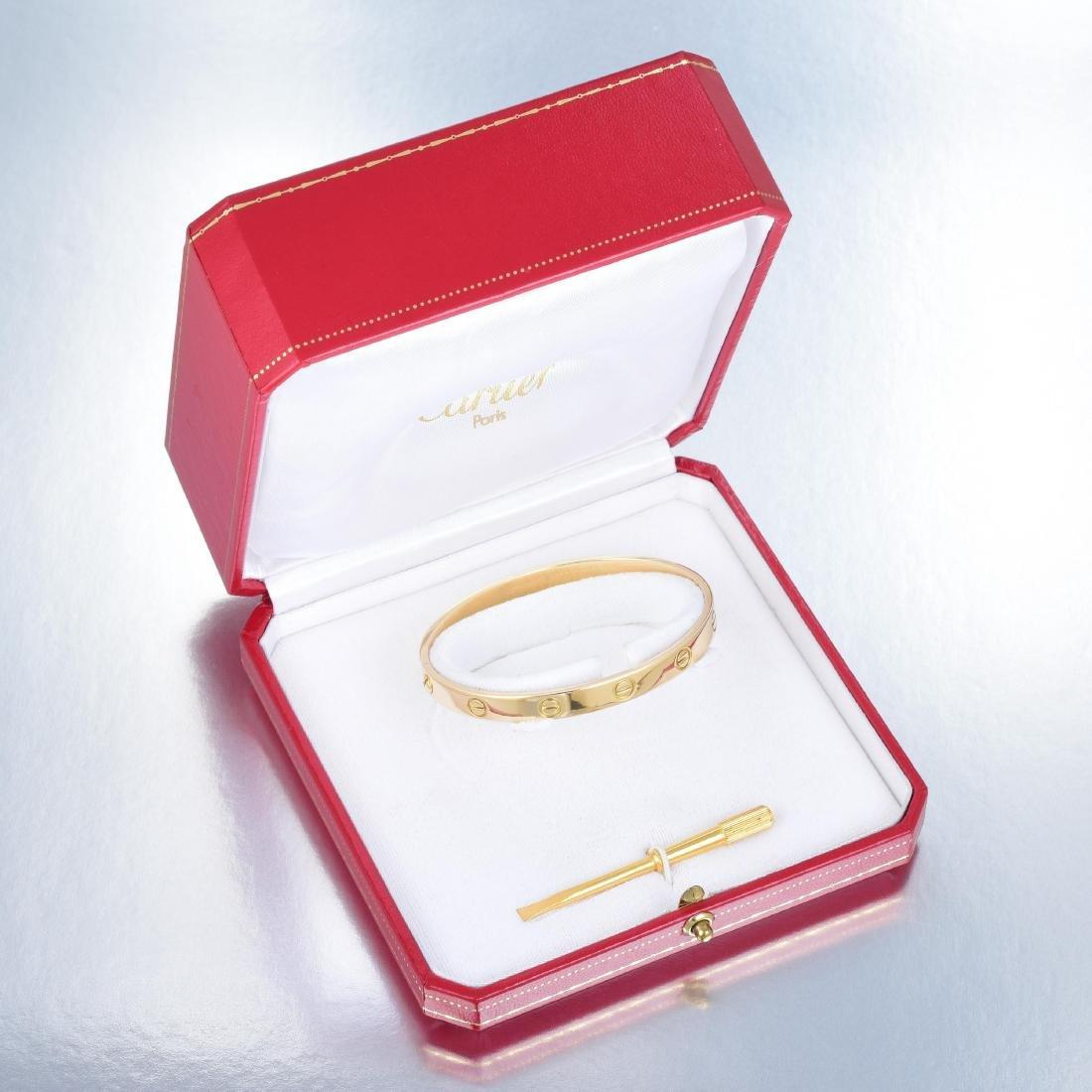 Cartier Love Bangle - 3