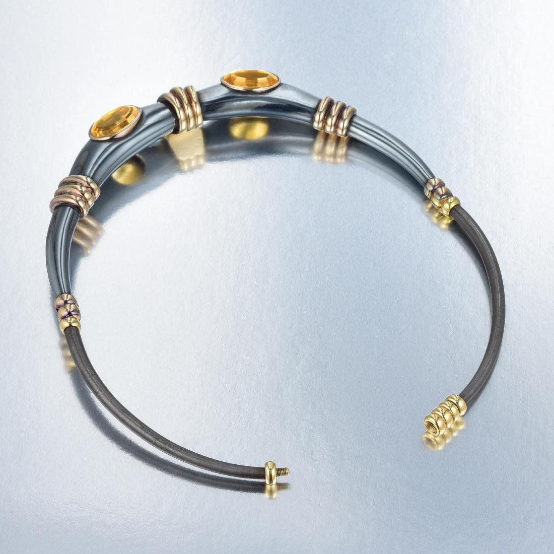 Rene Boivin Citrine Choker Necklace - 5