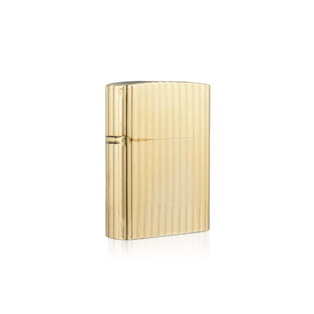 Tiffany & Co. Gold Zippo Lighter