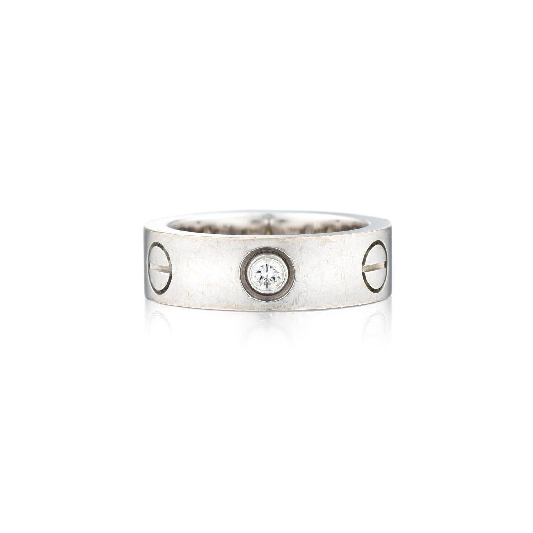 Cartier Thee-Diamond Love Ring