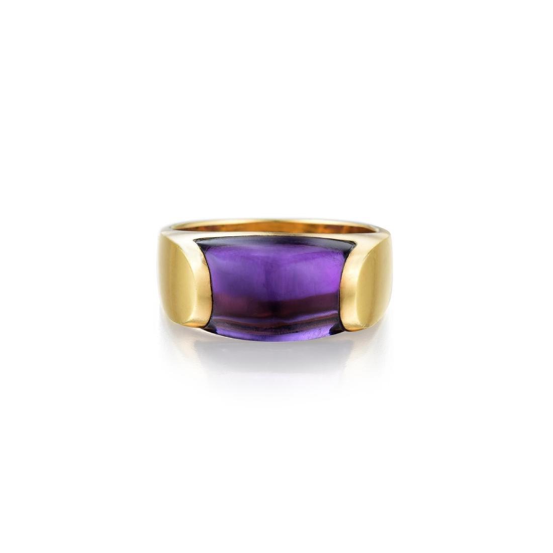 Bulgari MVSA Amethyst Ring
