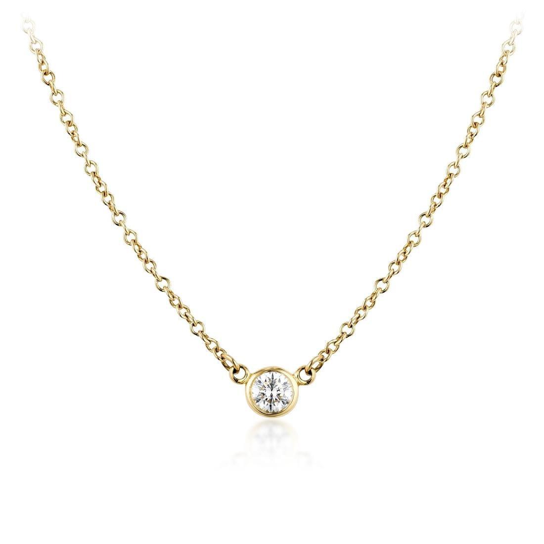 Tiffany & Co. Elsa Peretti Diamond Necklace