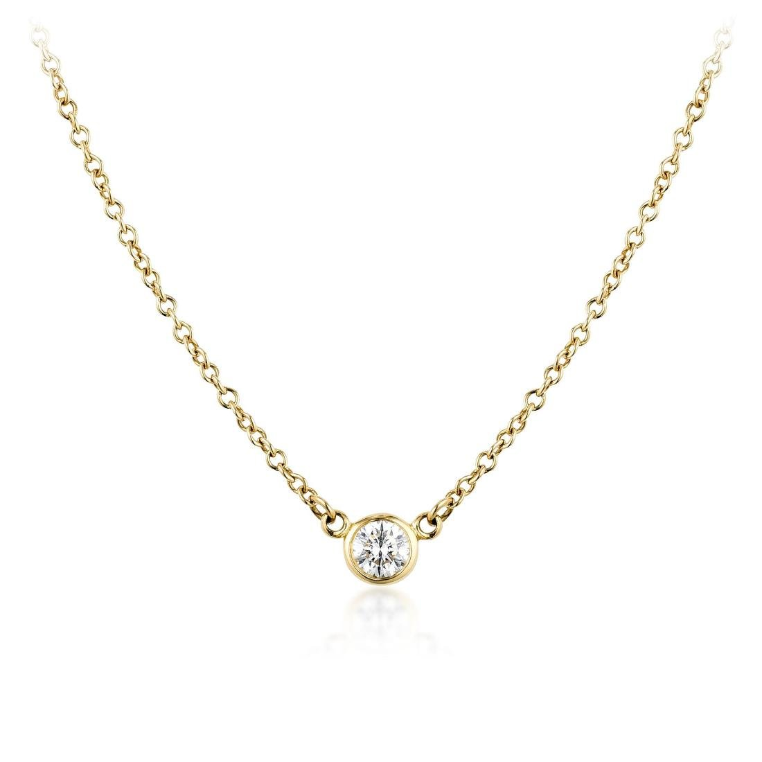 Tiffany & Co. Elsa Peretti Diamond Necklace