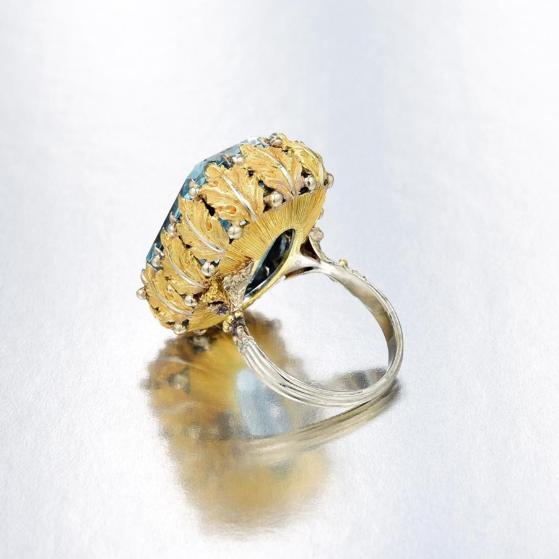 Buccellati Aquamarine Ring - 4