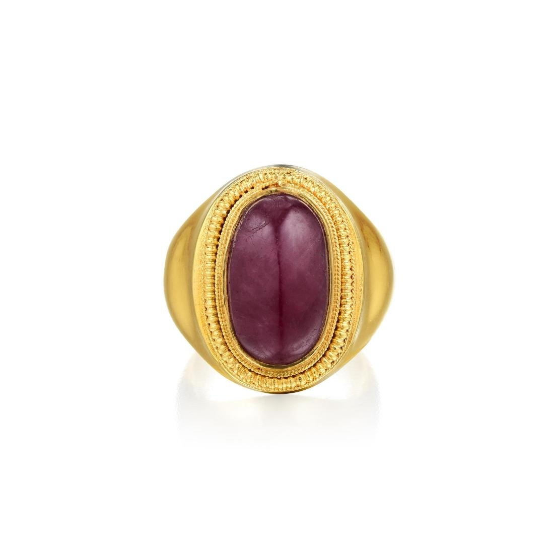 Lalaounis Ruby Ring