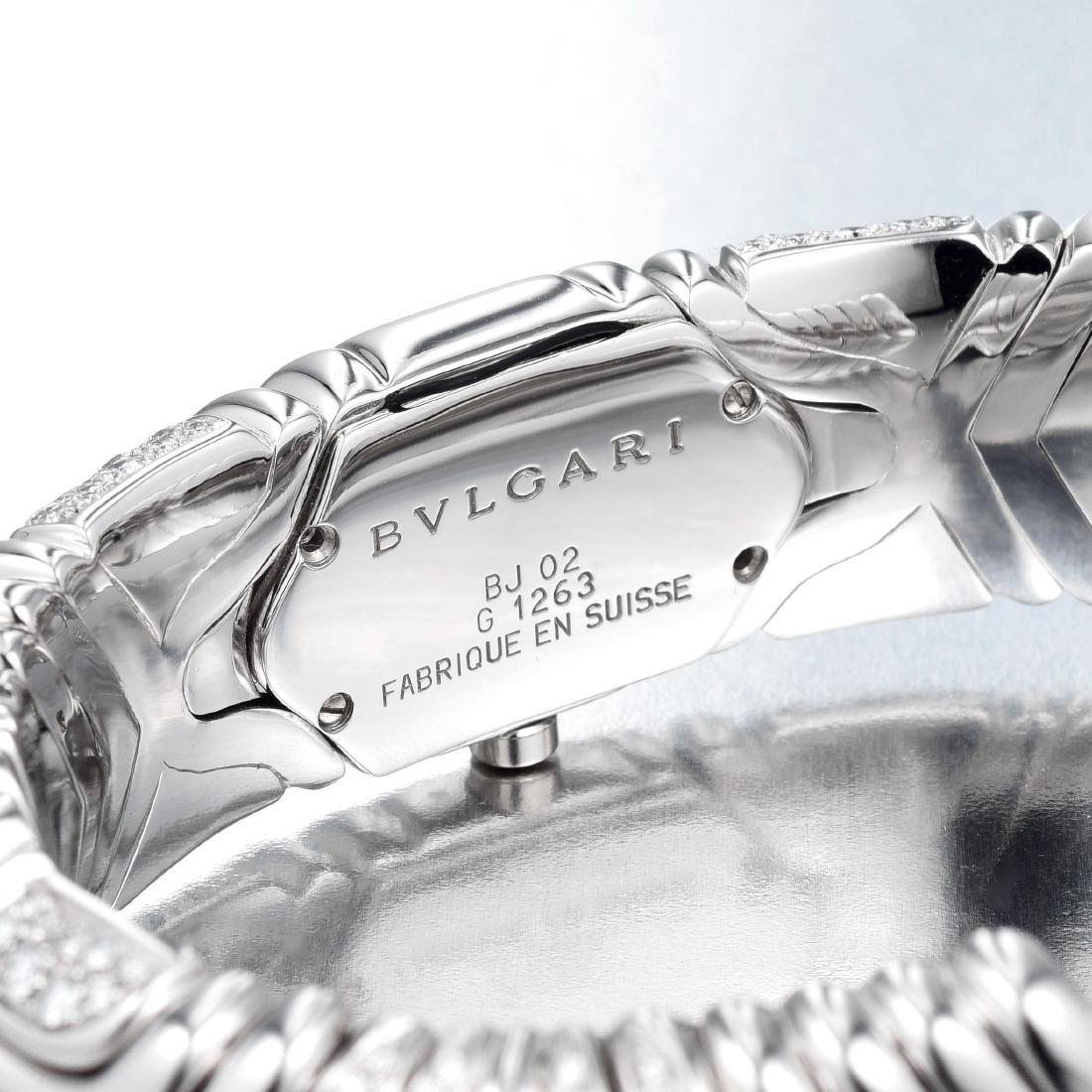Bulgari Alveare Diamond Cuff Watch - 3