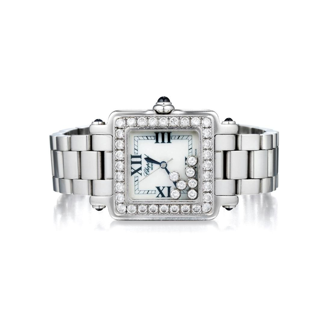 Chopard Happy Sport Diamond Ladies Watch