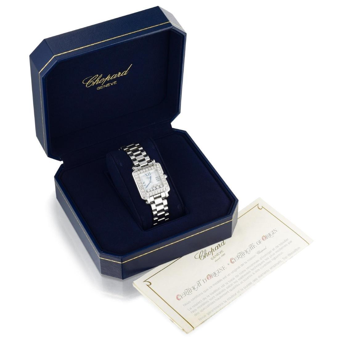 Chopard Happy Sport Diamond Ladies Watch - 3