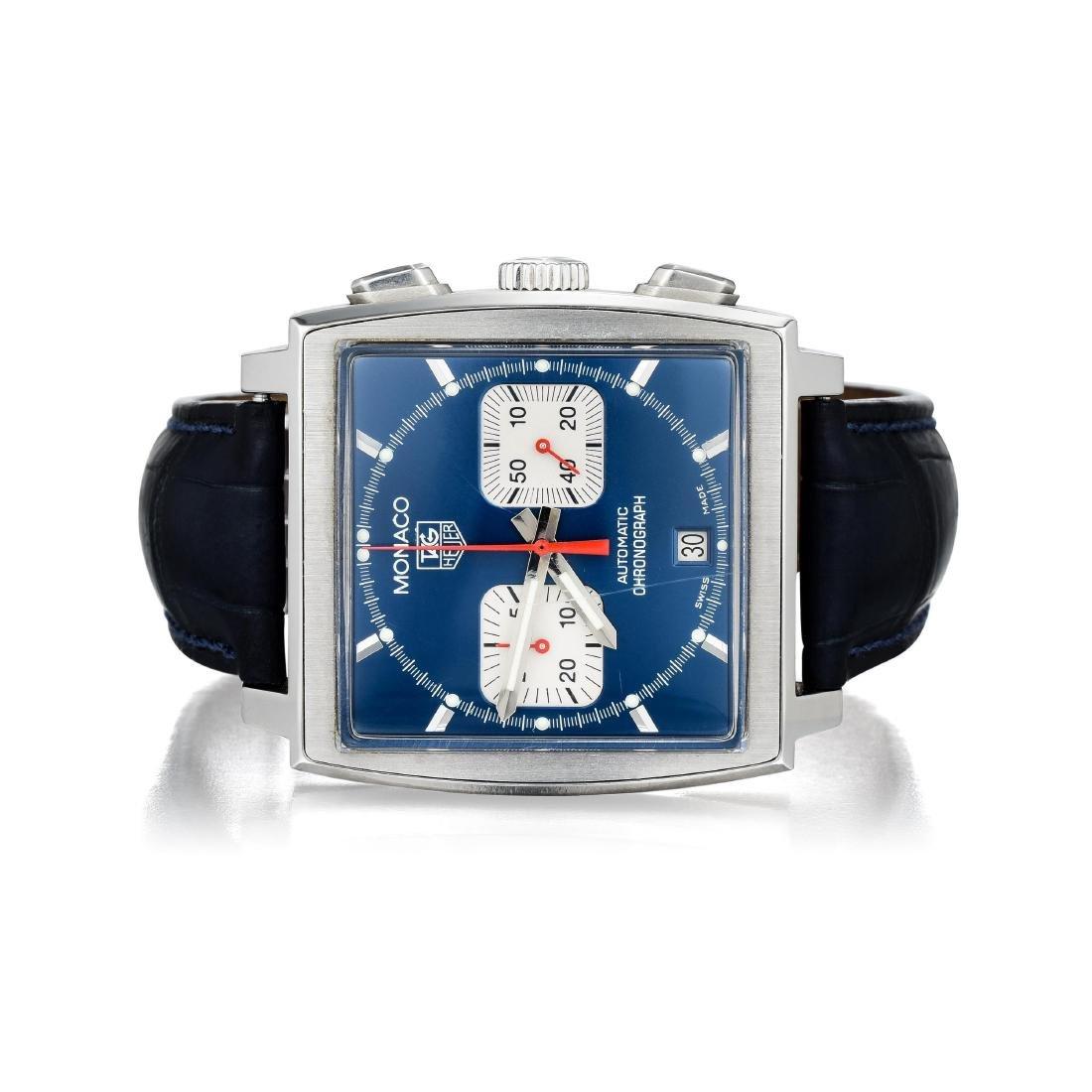 Tag Heuer Monaco Gents Chronograph Timepiece
