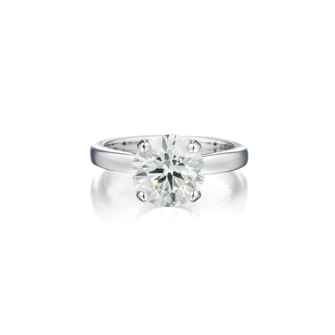 A 3.01 Carat Diamond Ring