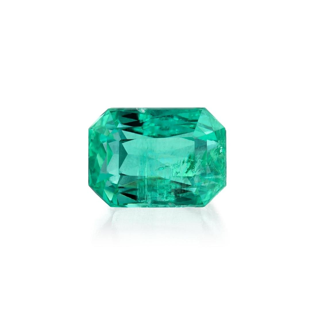 An Unmounted 5.27-Carat Colombian Emerald