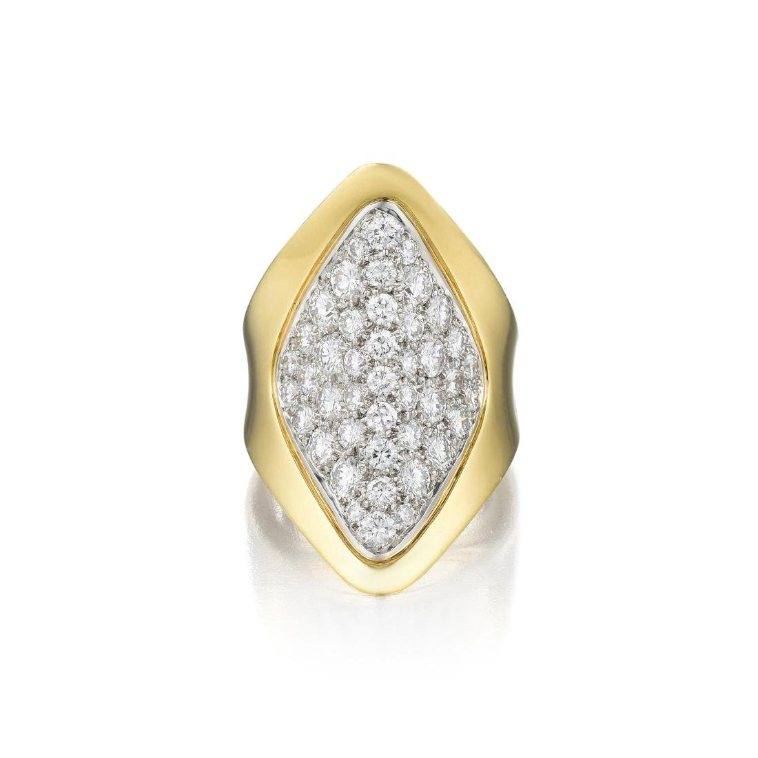 A Diamond Ring, French