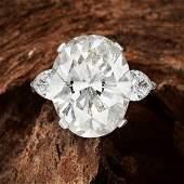 A 17.13-Carat Diamond Ring