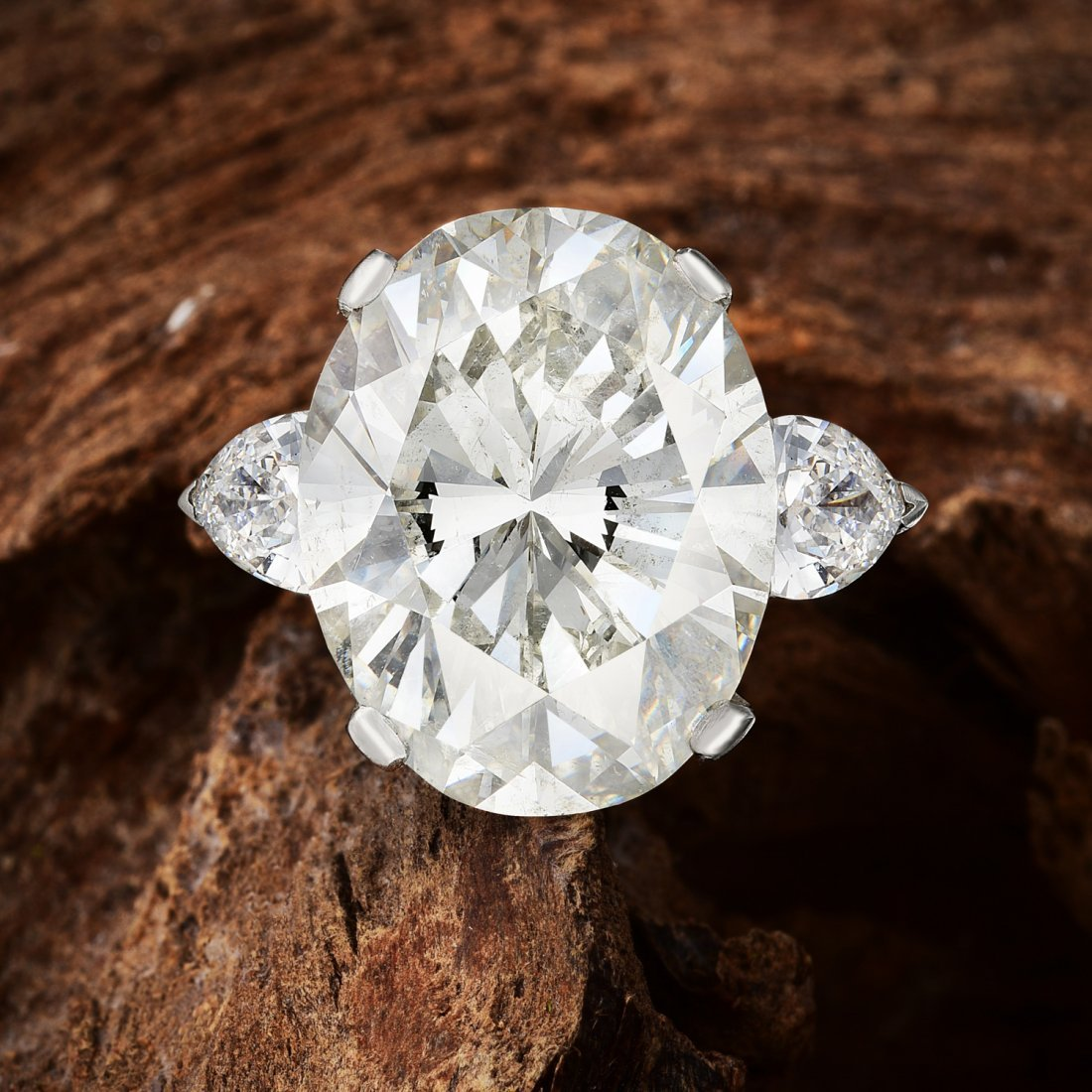 A 17.13-Carat Diamond Ring
